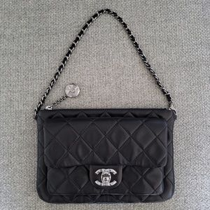 Authentic Chanel Wristlet/Pouch